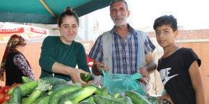 Kızıltepe'de kadın pazarcıların ekmek mücadelesi