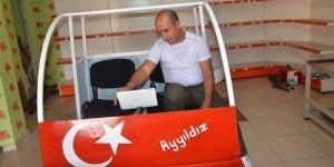 Siirtli mucit 15 bin liraya uçan araba yaptı