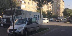 Diyarbakır'da TOMA otomobile çarptı