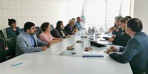 VİDEO- Diyarbakır'a gelen AB heyetinden iki önemli görüşme