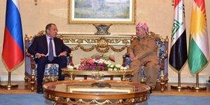 Barzani Rusya'dan Fırat'ın doğusu için Kürtleri korumasını istedi