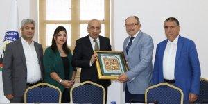 Dışişleri Bakanlığı Diyarbakır Temsilcisi'nden DTSO'ya ziyaret