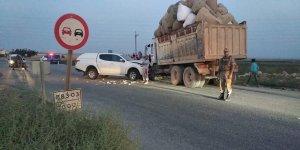 Suruç'ta trafik kazası: 2 yaralı