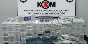 Siirt'te 2 bin 280 paket kaçak sigara ele geçirildi