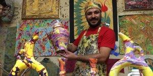 VİDEO - Ebru sanatı yaşamın her alanında