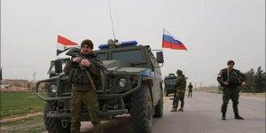 Rus askerleri Kobani'de
