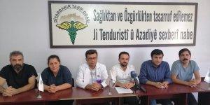 """""""Diyarbakır Sağlık Platformu""""ndan sağlıkta şiddete karşı ortak açıklama"""