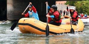 Van'da Türkiye Rafting Şampiyonası