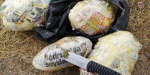 VİDEO - Diyarbakır'ın iki ilçesinde 390 kilo esrar yakalandı