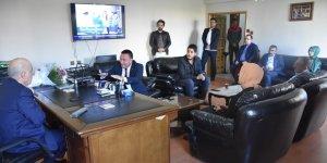 Beyoğlu'ndan AK Parti kurucu il başkanı Koçlardan'a ziyaret