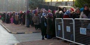 Bölgede kadın işsizliği
