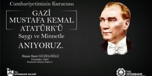 Vali Güzeloğlu'ndan 10 Kasım mesajı