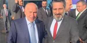 Bağlar Belediyespor Başkanı Merdoğlu, TFF Başkanı ile görüştü