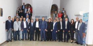 Çanakkale Ticaret Borsası heyetinden DTSO'ya ziyaret