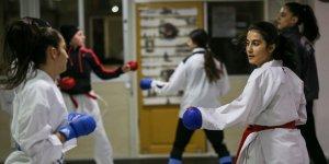 Diyarbakır'da Genç karatecilerin şampiyonluk teri