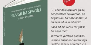 """Şair yazar Salih Aydemir'in yeni kitabı """"Sevgilim Sevgili"""" çıktı"""