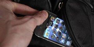Camiden cep telefonu çalan kişi yakalandı