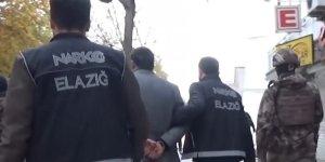 Elazığ'da zehir tacirlerine operasyon:3 gözaltı