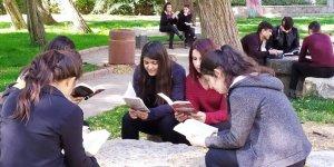 Silvan'da kitap okuma etkinliği
