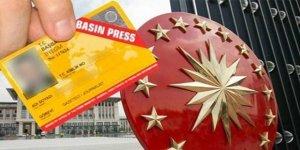 Cumhurbaşkanlığı İletişim Başkanlığı, 685 gazetecinin basın kartını iptal etti
