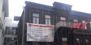 Kars Belediyesi'nin hesaplarına haciz