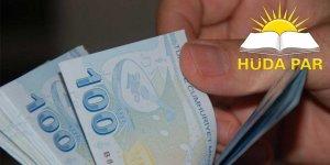 """HÜDA PAR'dan """"asgari ücret"""" açıklaması: 3 bin TL'nin altında olmamalı"""