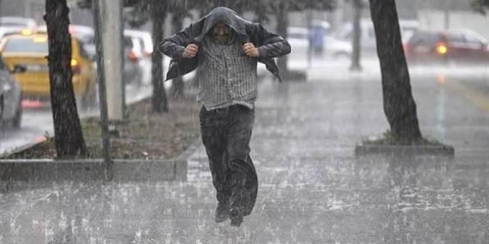Meteorolojiden kuvvetli sağanak uyarısı