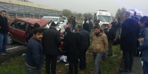 Diyarbakır Çınar'da kaza: 3 yaralı