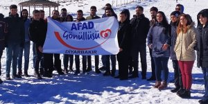 Diyarbakır AFAD'dan gönüllülere kurtarma eğitimi