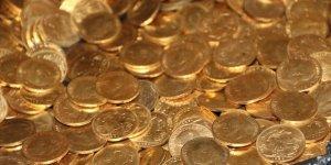 Şanlıurfa'da otel odasında 7 kilo tarihi altın para bulundu