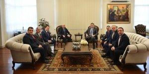 DÜ Rektörü Gül'den Milli Eğitim Bakanı Selçuk'a ziyaret