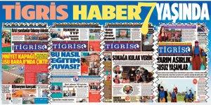 Gazetemiz 7 yaşında, teşekkürler Diyarbakır