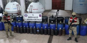 Mardin'de kaçak içki operasyonu