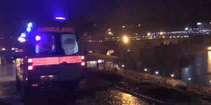 VİDEO - On gözlü köprüde intihar girişimi