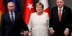 Erdoğan, Merkel ve Putin ile Libya'yı konuştu