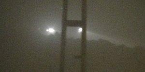 Yüksekova'da yoğun sis: Göz gözü görmüyor
