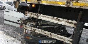 Diyarbakır'da buzlanma kazası: 4 yaralı