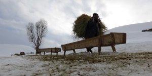 Muş'ta besicilerin zorlu kış mesaisi