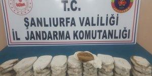 Şanlıurfa'da uyuşturucu ve kaçak akaryakıt operasyonu