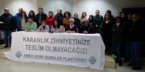 Diyarbakırlı öğretmenler Van'daki meslektaşlarına sahip çıktı