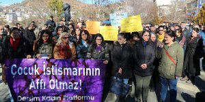 Tunceli'de çocuk istismarına halk tepkisi
