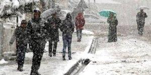 Meteorolojiden Bölge için kar yağışı uyarısı