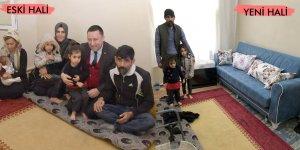 Beyoğlu'ndan mağdur aileye yardım