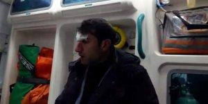 Siirt'te buzlanmadan kaynaklı düşerek yaralanan öğretmen için ekipler seferber oldu
