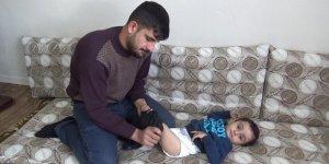 Diyarbakırlı 3 yaşındaki engelli Ardem yardım bekliyor