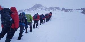 Şanlıurfalı dağcılardan Berit Dağı tırmanışı