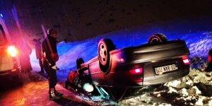 Van'da kaza: 1 yaralı