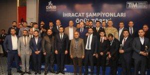 Şırnak'ta 2019 yılı ihracat şampiyonlarına ödül