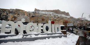 Mardin kar altında