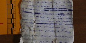 Gülistan'ı ararken bulunan notta 'Okulda baskı var' yazıyor